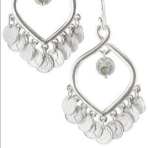 Stella and Dot Rio Chandelier Earrings